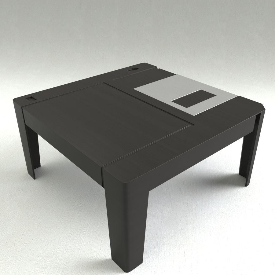 dyskietka stołowa royalty-free 3d model - Preview no. 4