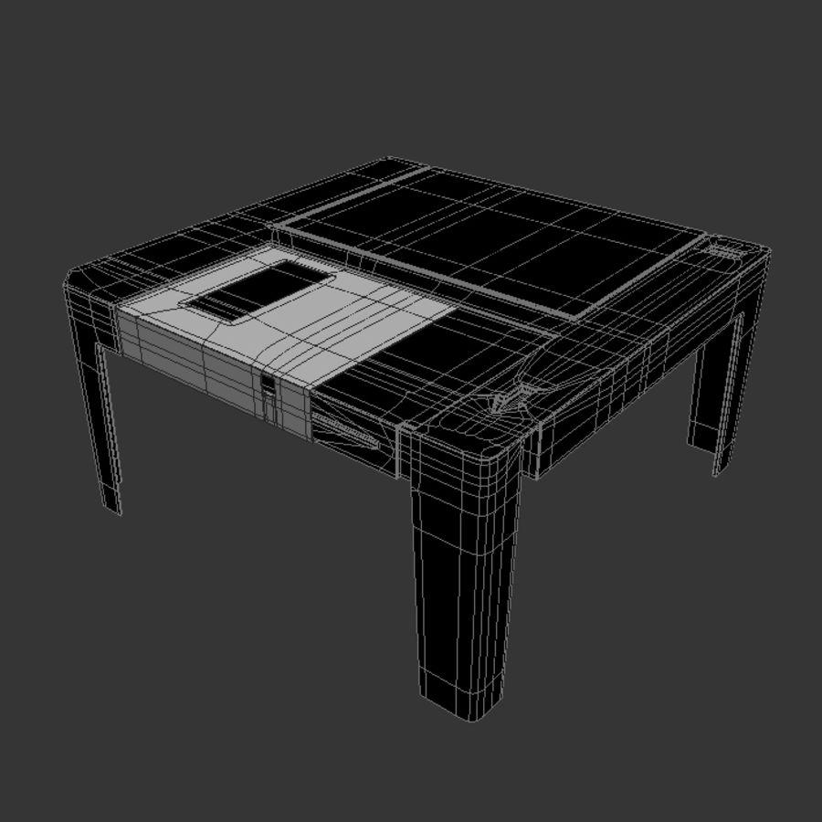 dyskietka stołowa royalty-free 3d model - Preview no. 5