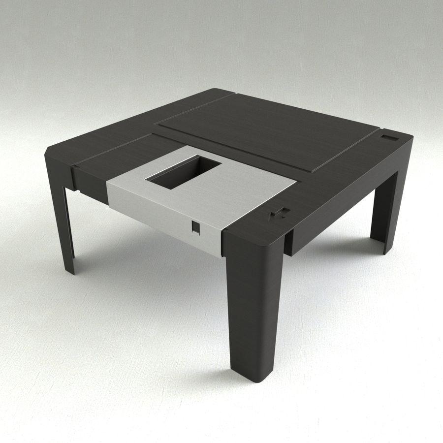 dyskietka stołowa royalty-free 3d model - Preview no. 2