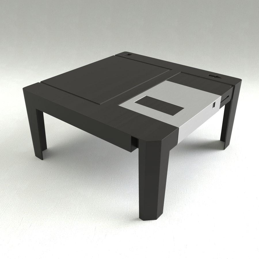 dyskietka stołowa royalty-free 3d model - Preview no. 3