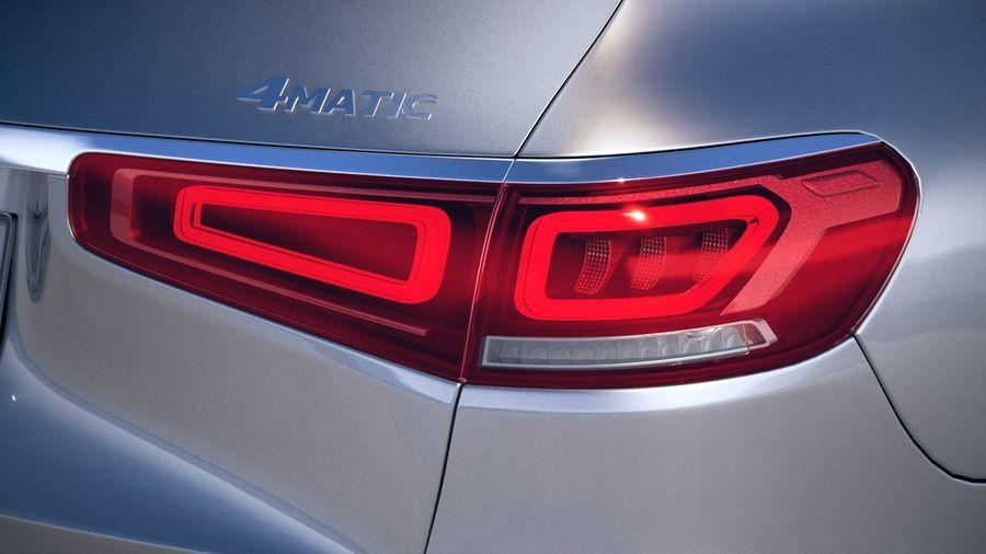 Mercedes-Benz GLS Basic 2020 royalty-free 3d model - Preview no. 17