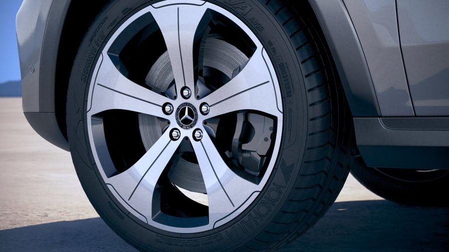 Mercedes-Benz GLS Basic 2020 royalty-free 3d model - Preview no. 15