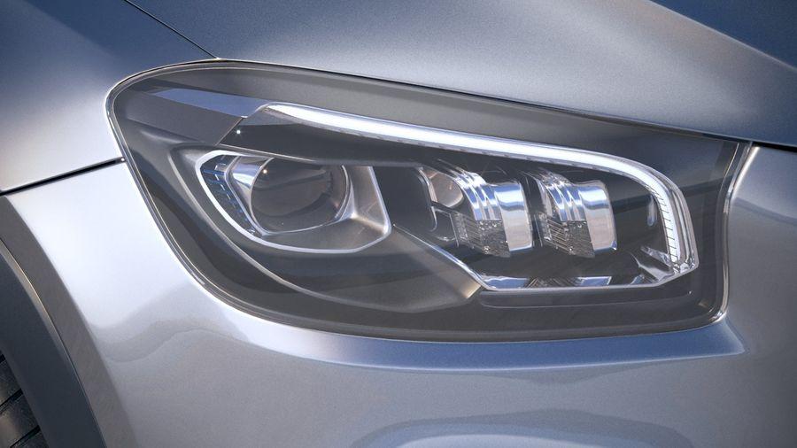 Mercedes-Benz GLS Basic 2020 royalty-free 3d model - Preview no. 16