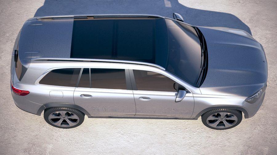 Mercedes-Benz GLS Basic 2020 royalty-free 3d model - Preview no. 8