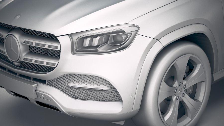 Mercedes-Benz GLS Basic 2020 royalty-free 3d model - Preview no. 19