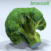 브로콜리 HD 3d model