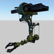 Fabriek machine 3d model