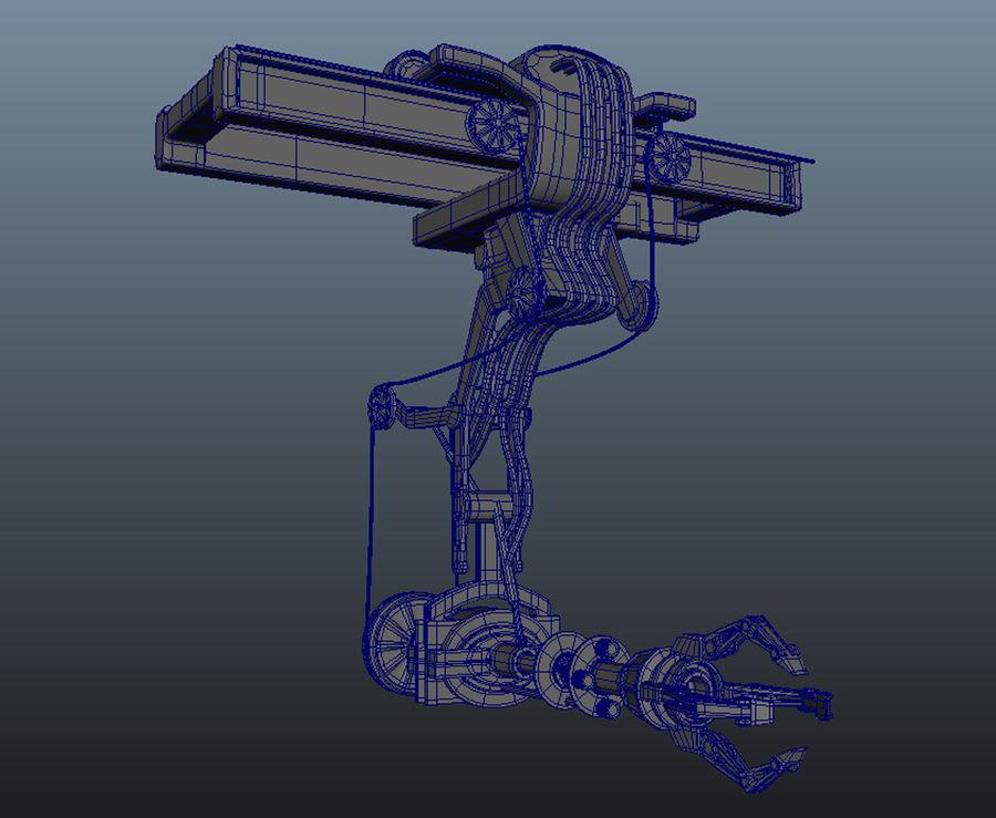 工場機械 royalty-free 3d model - Preview no. 5