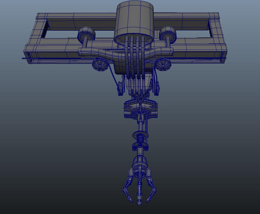 工場機械 royalty-free 3d model - Preview no. 4