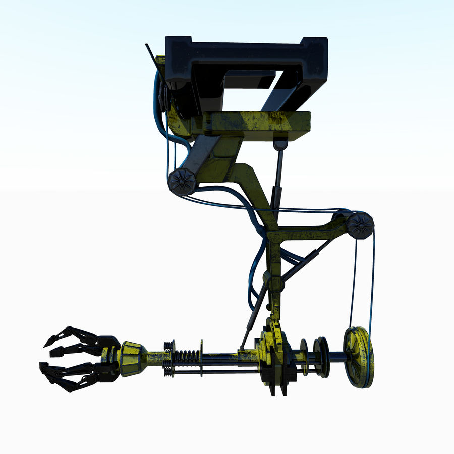 工場機械 royalty-free 3d model - Preview no. 2