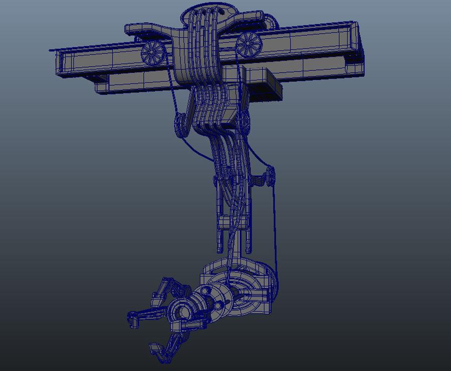 工場機械 royalty-free 3d model - Preview no. 3