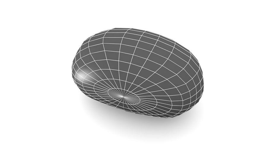 Pomme De Terre Basse Poly royalty-free 3d model - Preview no. 8