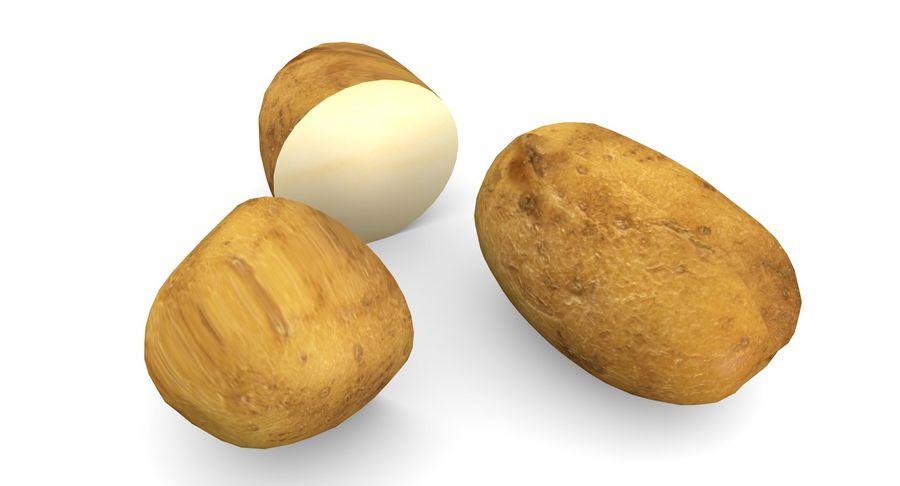 Pomme De Terre Basse Poly royalty-free 3d model - Preview no. 6