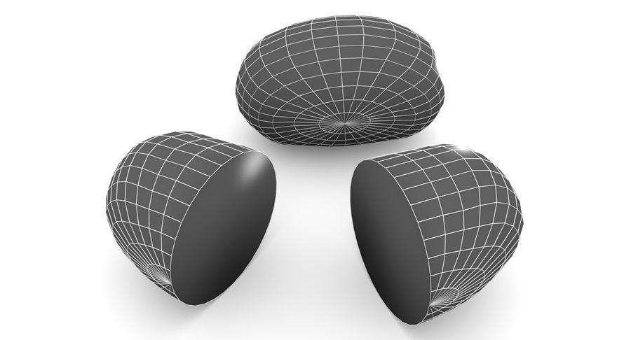 Pomme De Terre Basse Poly royalty-free 3d model - Preview no. 9