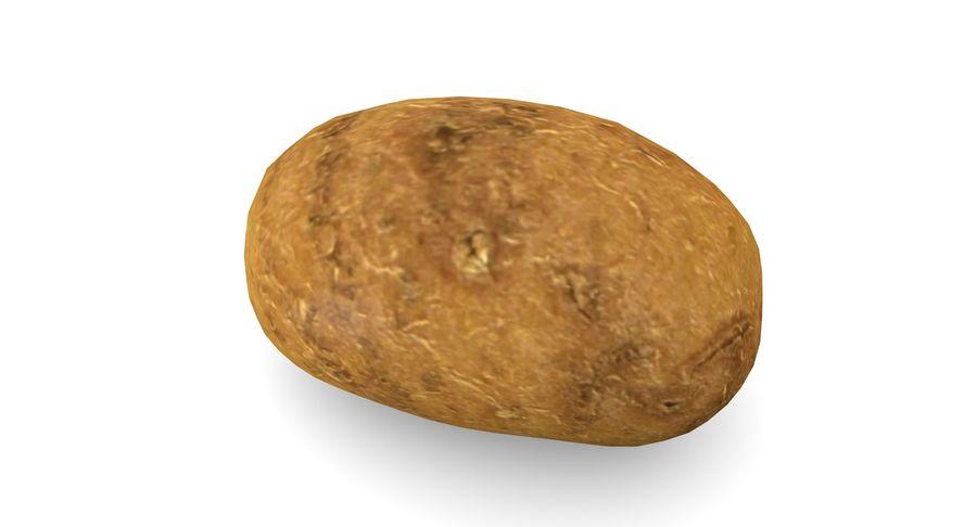 Pomme De Terre Basse Poly royalty-free 3d model - Preview no. 3
