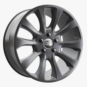 Obręcz koła Audi 3d model