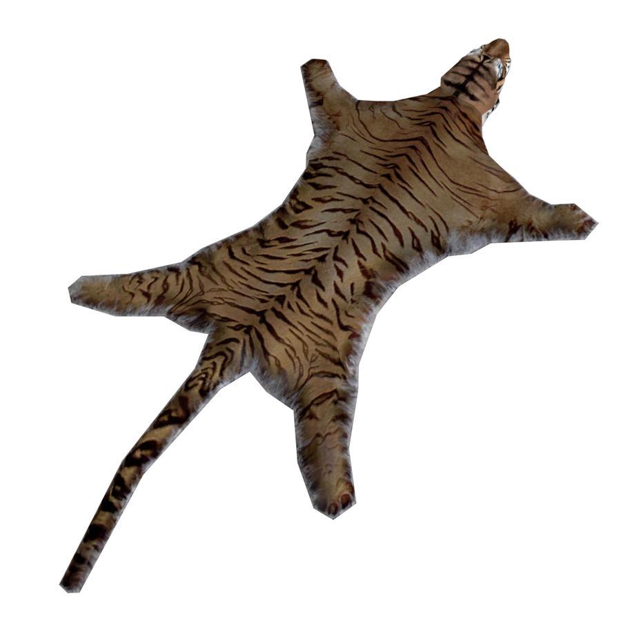 Tiger Carpet royalty-free 3d model - Preview no. 2