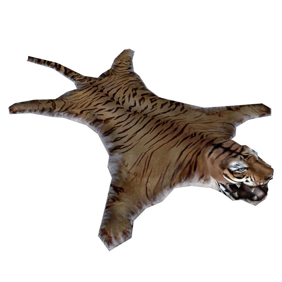 Tiger Carpet royalty-free 3d model - Preview no. 1