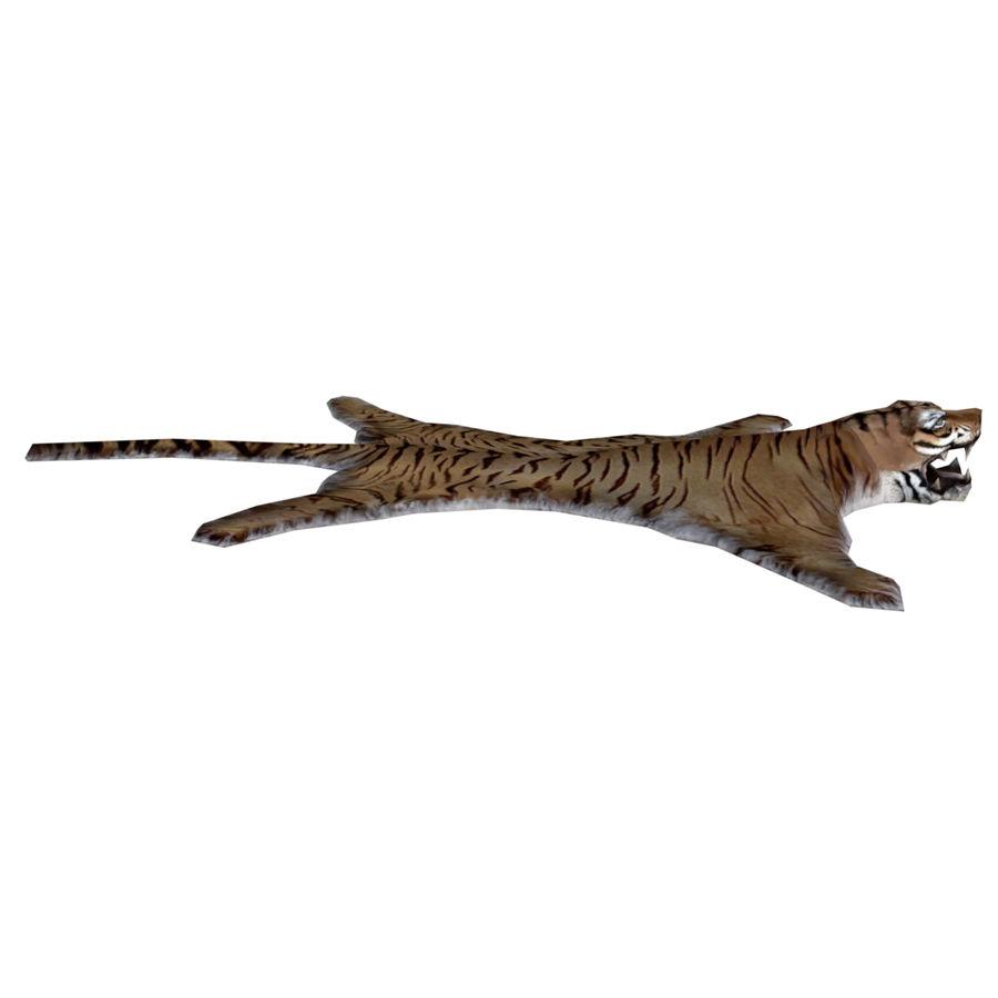 Tiger Carpet royalty-free 3d model - Preview no. 4
