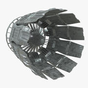 Spacecraft Turbine Exhaust 3d model