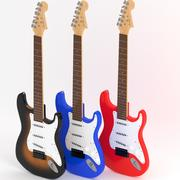 ギター 3d model