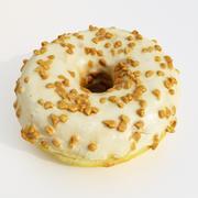 Donut 10 Caramel 3d model