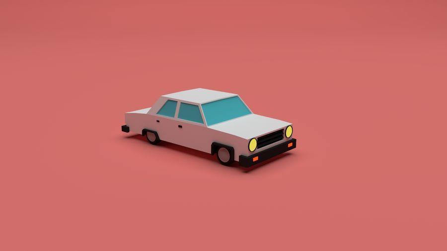 简易车城 royalty-free 3d model - Preview no. 3