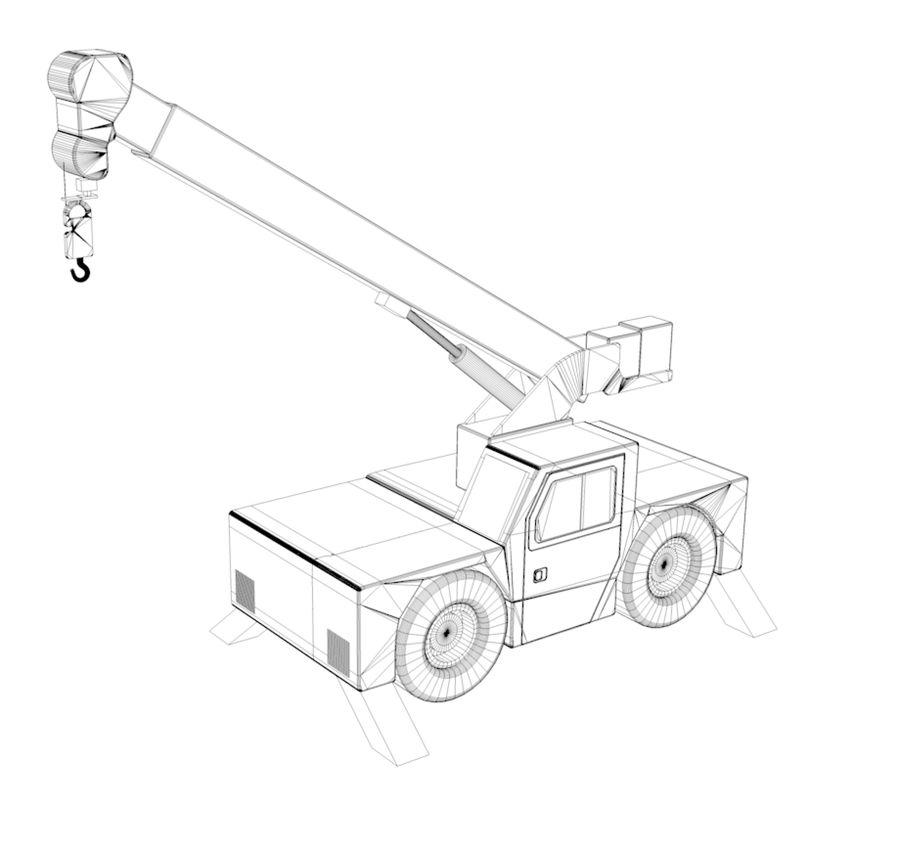 crane royalty-free 3d model - Preview no. 5