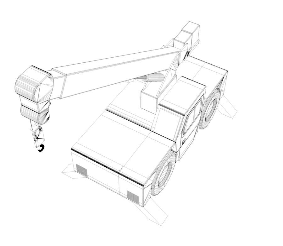 crane royalty-free 3d model - Preview no. 4
