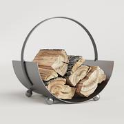 Burnished Çelik Tomruk Tutacağı 3d model