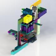Mecanismo de estampagem Ccd 3d model
