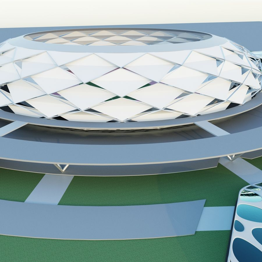 stadion royalty-free 3d model - Preview no. 3