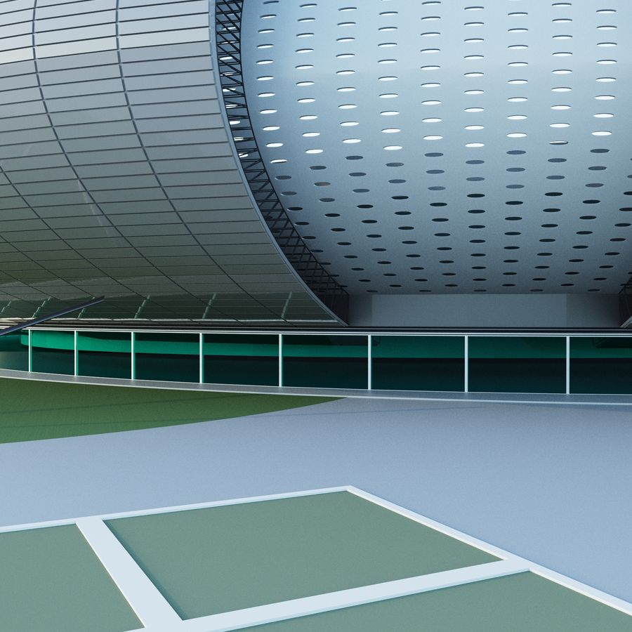 stadium 04 royalty-free 3d model - Preview no. 3