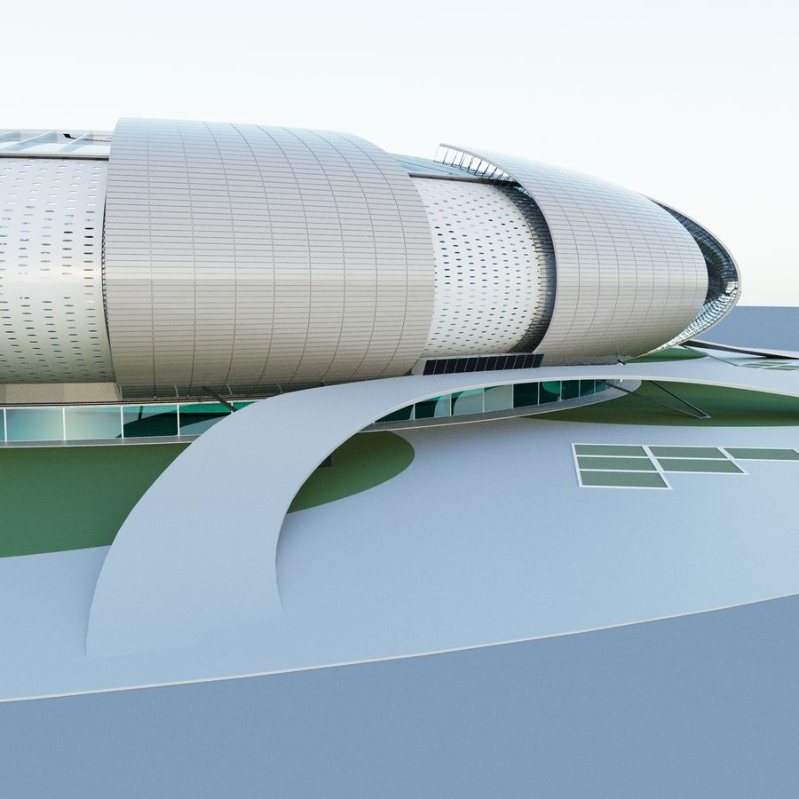 stadium 04 royalty-free 3d model - Preview no. 1
