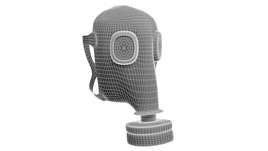 Maschera antigas royalty-free 3d model - Preview no. 6