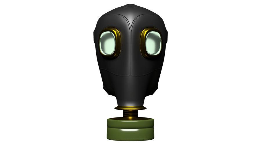 Maschera antigas royalty-free 3d model - Preview no. 3