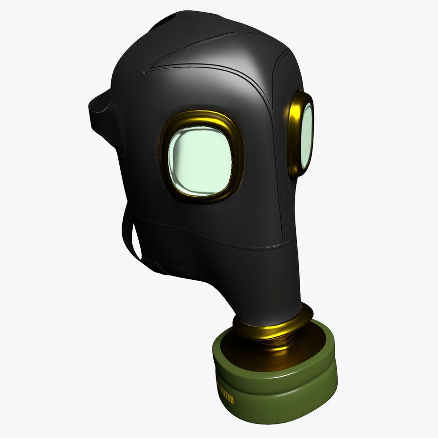 Maschera antigas royalty-free 3d model - Preview no. 1