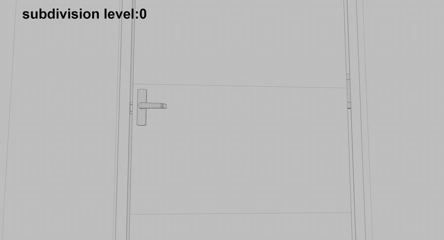 Acil Durumdan Çık royalty-free 3d model - Preview no. 24