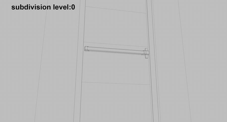Acil Durumdan Çık royalty-free 3d model - Preview no. 20