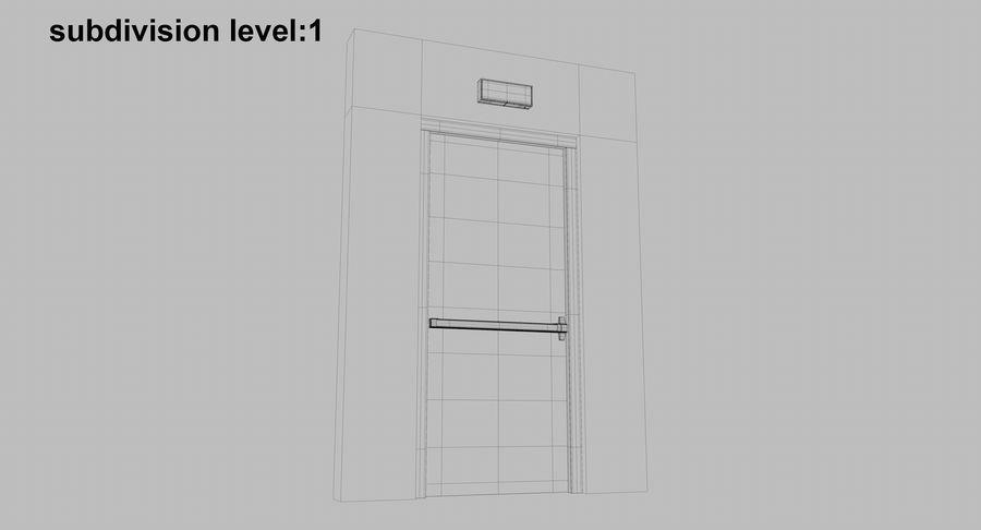 Acil Durumdan Çık royalty-free 3d model - Preview no. 19