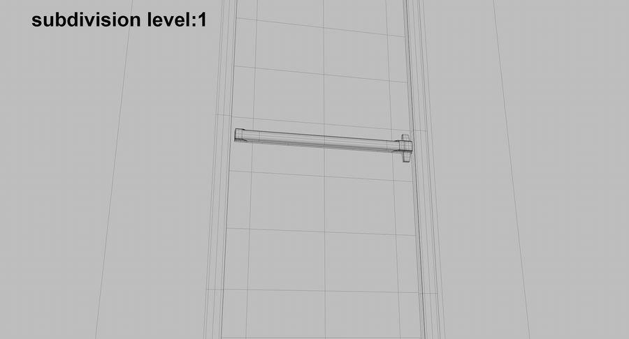 Acil Durumdan Çık royalty-free 3d model - Preview no. 21
