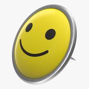 Glücklicher smileyPin 3d model
