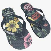 Realistic Havaianas Flip Flops 3d model