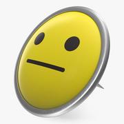 Face Push Pin 3d model