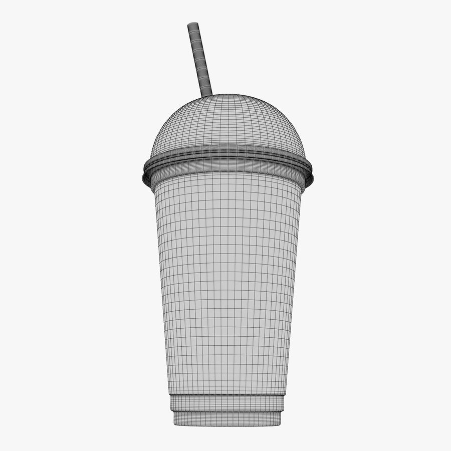 Plastic Cup 500ml - 01 royalty-free 3d model - Preview no. 16