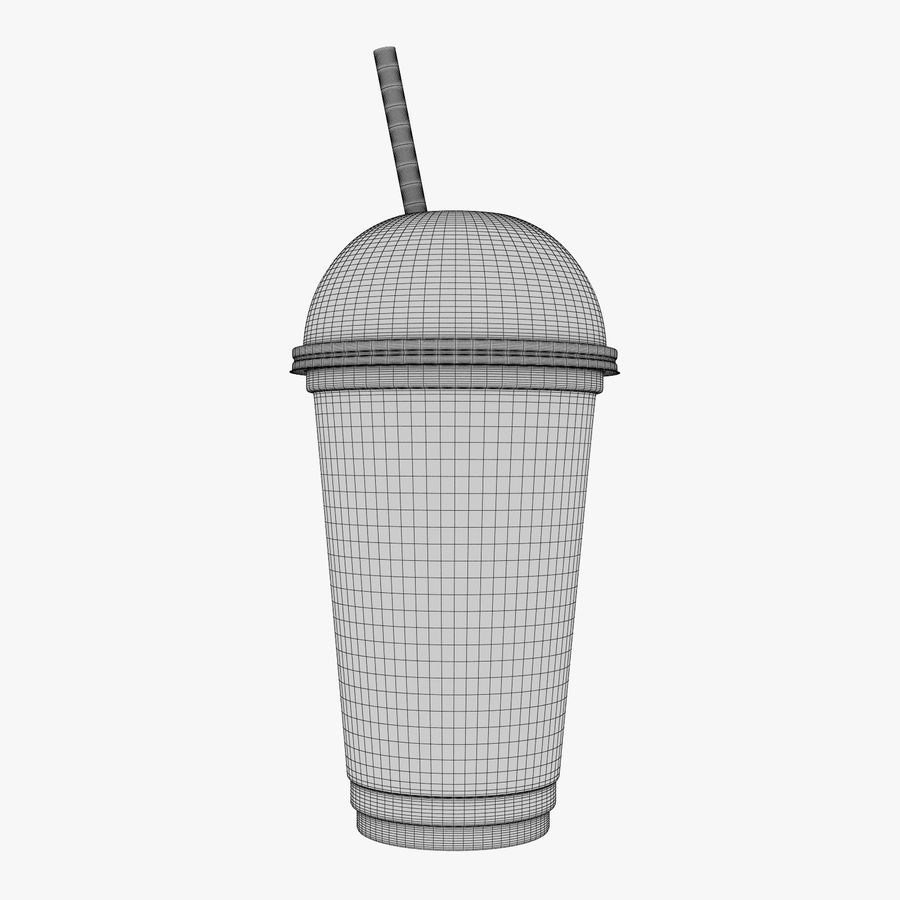 Plastic Cup 500ml - 01 royalty-free 3d model - Preview no. 15