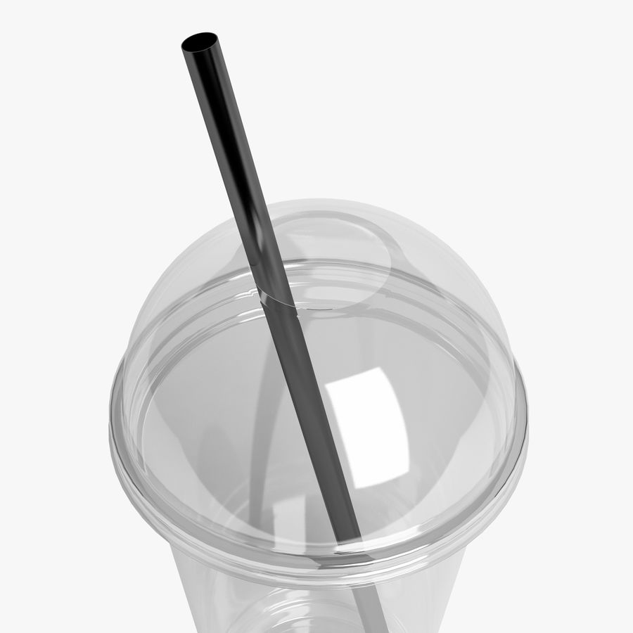 Plastic Cup 500ml - 01 royalty-free 3d model - Preview no. 4