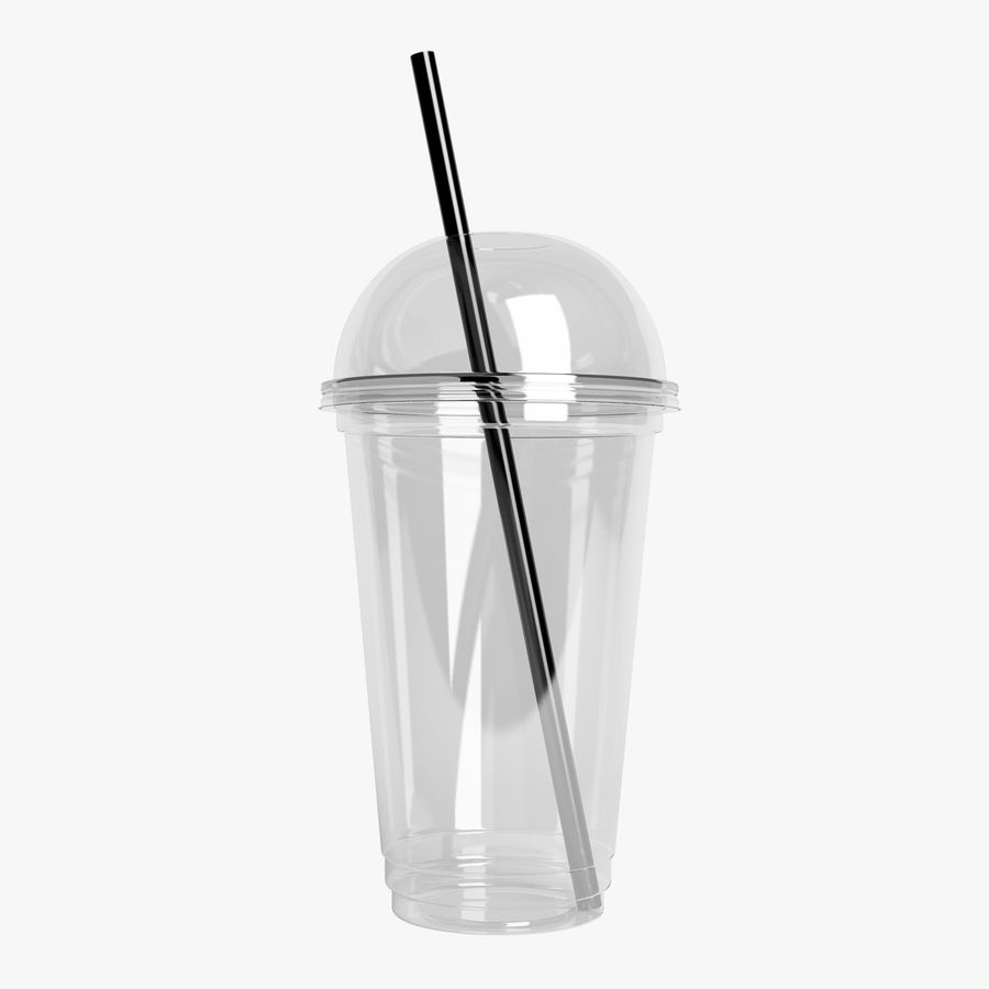 Plastic Cup 500ml - 01 royalty-free 3d model - Preview no. 1