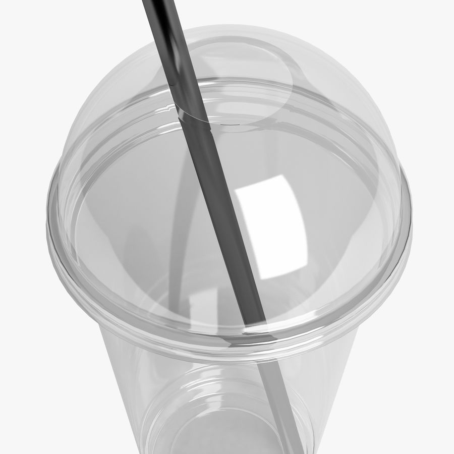 Plastic Cup 500ml - 01 royalty-free 3d model - Preview no. 5