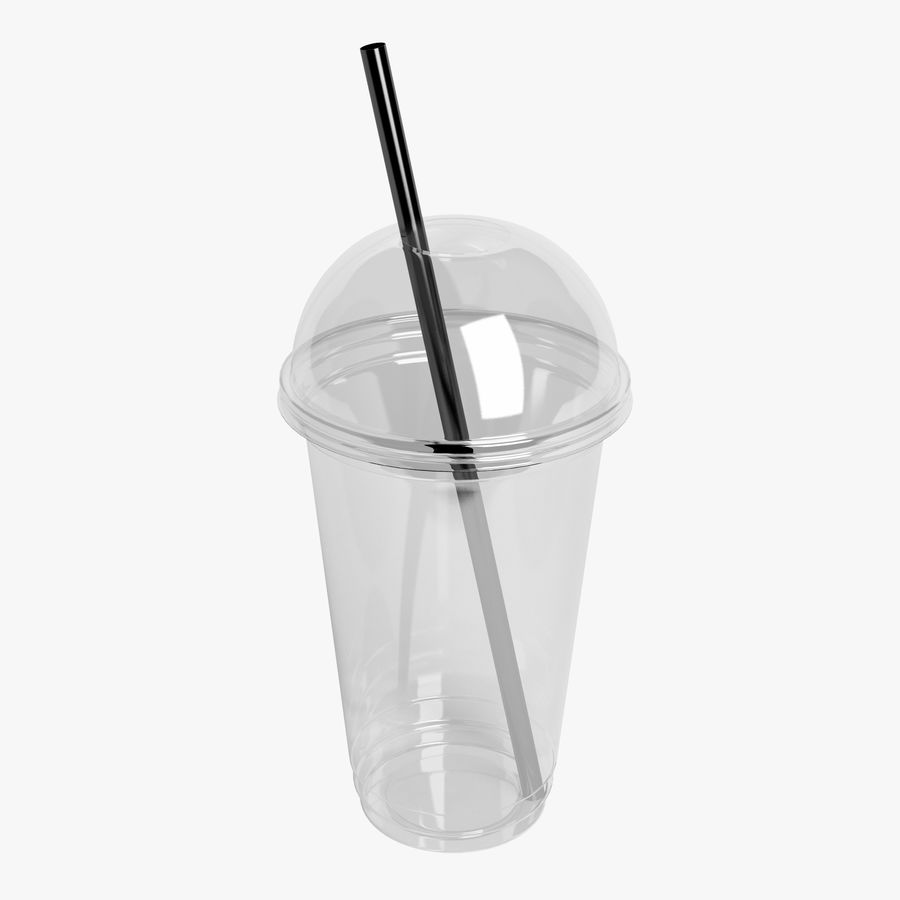 Plastic Cup 500ml - 01 royalty-free 3d model - Preview no. 2